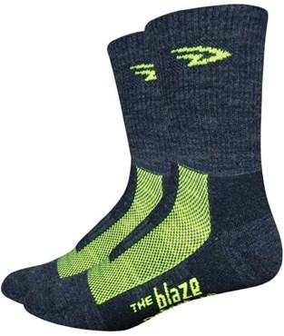 "Defeet Blaze 4"" Socks"