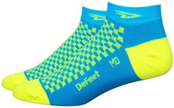 "Product image for Defeet Speede 1"" Hi-Vis D Logo Socks"
