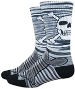 "Product image for Defeet Levitator Trail 6"" Bonehead Socks"