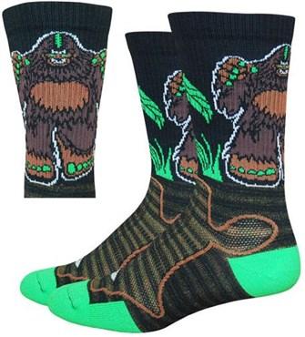 """Defeet Levitator Trail 6"""" Bigfoot Socks"""