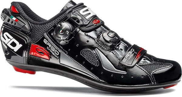 SIDI Ergo 4 Carbon Comp Lucido Road Cycling Shoes