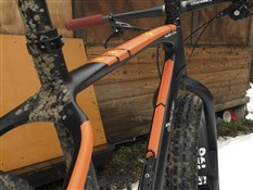 AMS XL Honeycomb Frame Guard