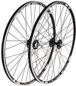 Product image for Tru-Build 700c Sealed Tracked Front Wheel Mach1 Omega Rim 32H