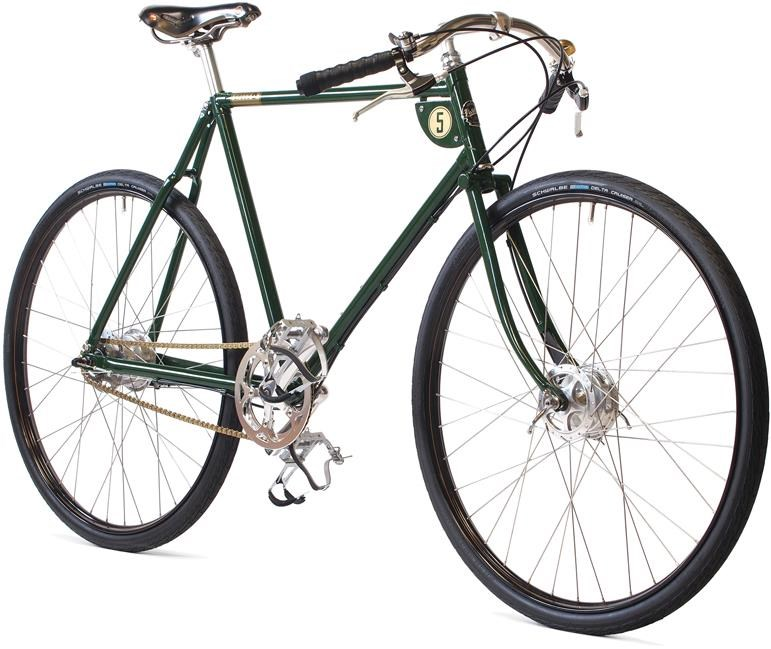 Pashley Speed 5 2019 - Hybrid Classic Bike | City-cykler