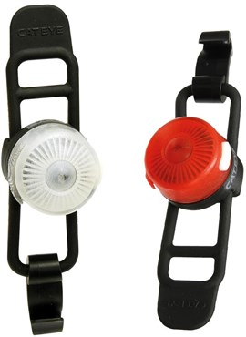 Cateye Loop 2 Front / Rear USB Rechargeable Light Set