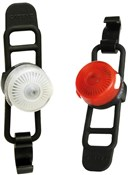 Product image for Cateye Loop 2 Front / Rear USB Rechargeable Light Set