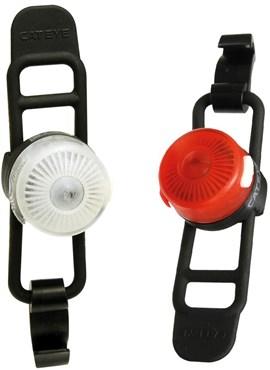Cateye Loop 2 Front / Rear USB Rechargeable Light Set
