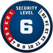 Abus Raydo Pro 1460/85 Steel O Flex Lock