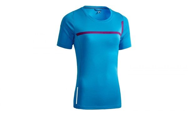 Cube Motion WLS Round Neck Womens Short Sleeve Cycling Jersey