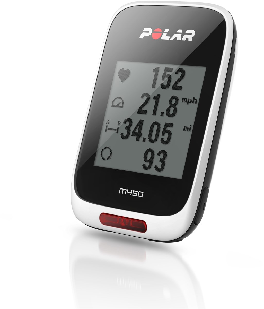Polar M450 GPS Bike Computer With Heart Rate Monitor   Cycle computers