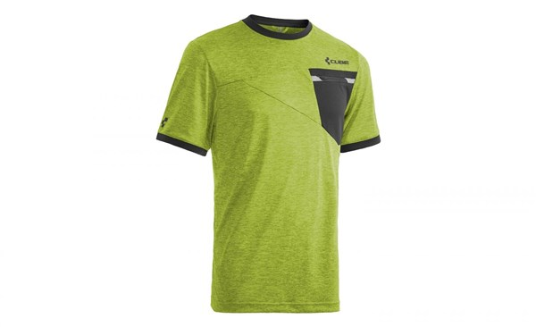 Cube Tour Roundneck Free Short Sleeve Cycling Jersey