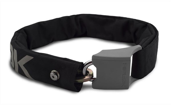 HipLok V1.5 Wearable Chain Lock - Silver Sold Secure