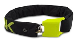 HipLok V1.5 Wearable Chain Lock - Silver Sold Secure