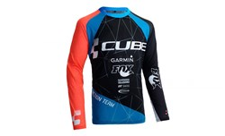Cube Action Roundneck Team Long Sleeve Cycling Jersey