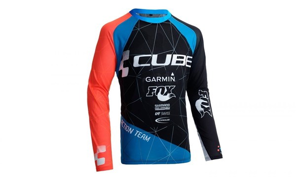 Cube Action Roundneck Team Long Sleeve Jersey