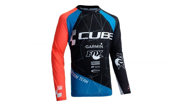 Cube Action Roundneck Signature Long Sleeve Jersey
