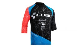 Cube Action Roundneck Signature 3/4 Arm Cycling Jersey