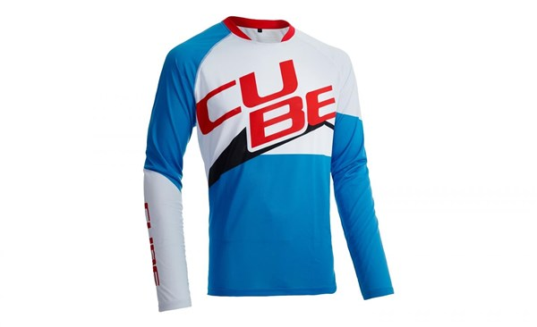 Cube Action Team Roundneck Teamline Long Sleeve Jersey
