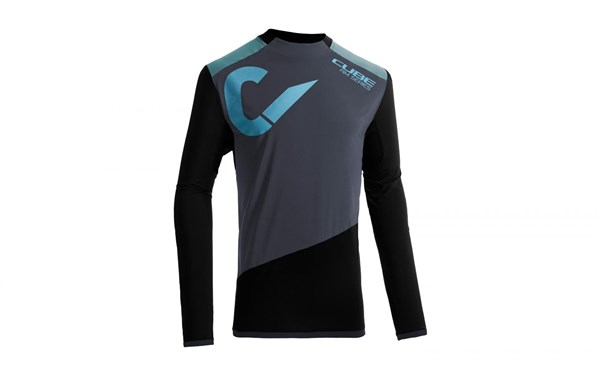 Cube All Mountain Roundneck Long Sleeve Jersey