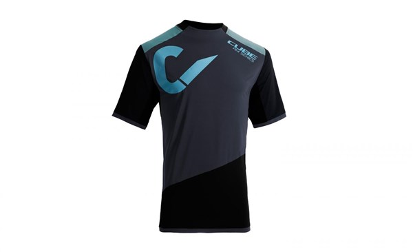 Cube All Mountain Roundneck Short Sleeve Cycling Jersey