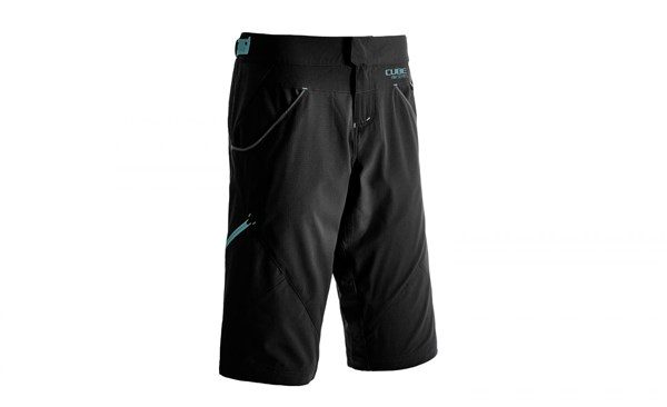 Cube All Mountain Baggy Cycling Shorts With Inner Shorts