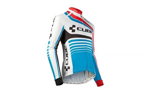 Cube Teamline Long Sleeve Jersey 2017