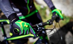 Cube Race Touch Long Finger Cycling Gloves