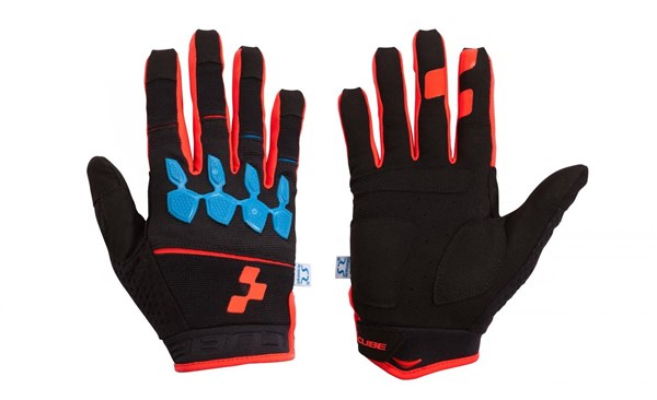 Cube Race Armourgel Long Finger Cycling Gloves