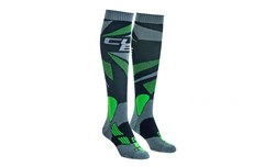 Cube Action Knee High Cycling Socks
