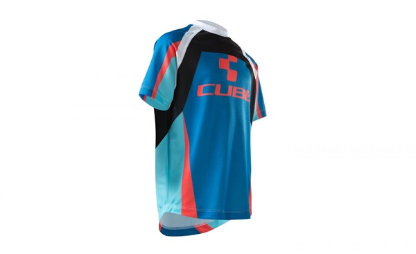 Cube Action Team Roundneck Junior Short Sleeve Jersey