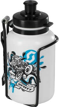 Scott Kids Water Bottle & Cage Set