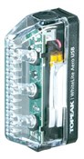 Product image for Topeak Whitelite Aero USB Rechargeable 3 LED Front Light