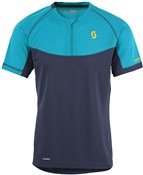 Product image for Scott Trail MTN Polar Q-Zip Short Sleeve Jersey