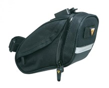 Product image for Topeak Aero Wedge DX Quick Clip Saddle Bag - Medium