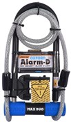 Product image for Oxford Alarm-D Max Alarmed D-Lock Duo Pack