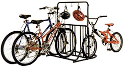 Product image for Gear Up Six-On-The-Floor 6-bike Holder With Accessory Bar