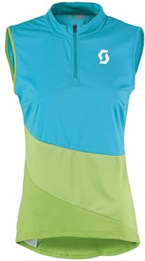Scott Trail Flow Sleeveless Womens Cycling Jersey