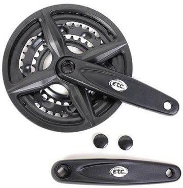 ETC Triple Chainset 170mm 28/38/48T With Guard