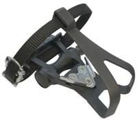 ETC Resin Road Pedals Inc Toe Clip/Strap