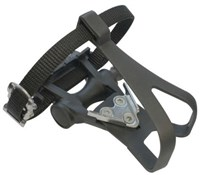 Product image for ETC Resin Road Pedals Inc Toe Clip/Strap