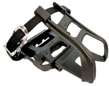 ETC MTB Pedals Include Toe Clip/Strap