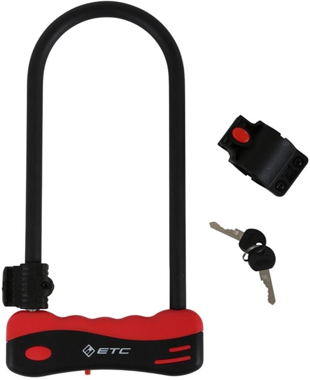 ETC 12mm Shackle D Lock | Combo Lock
