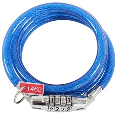 ETC Coil Cable Combination Lock
