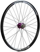 """Hope Tech DH - Pro 4 27.5"""" Rear Wheel - Purple - 32H"""