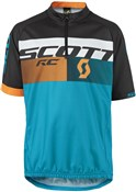 Product image for Scott RC Pro Short Sleeve Junior Cycling Jersey