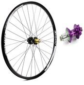 Hope Tech Enduro - Pro 4 27.5 / 650B Rear Wheel - Purple