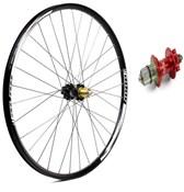 Hope Tech Enduro - Pro 4 27.5 / 650B Rear Wheel - Red