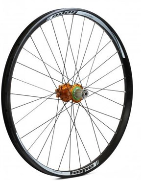 "Hope Tech DH - Pro 4 26"" Rear Wheel - Orange - 32H"