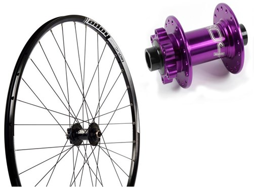 """Hope Tech XC S-Pull - Pro 4 Straight-Pull 29"""" Front Wheel"""