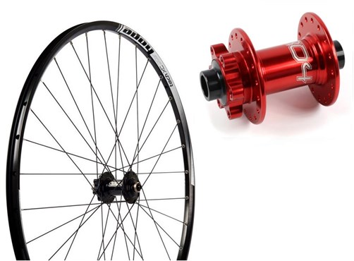 "Hope Tech XC - Pro 4 26"" Front Wheel - 24 Hole"